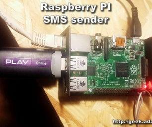 Raspberry PI SMS Sender