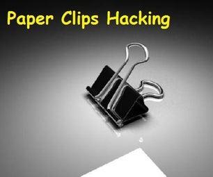 8 Paper Clips Hacks