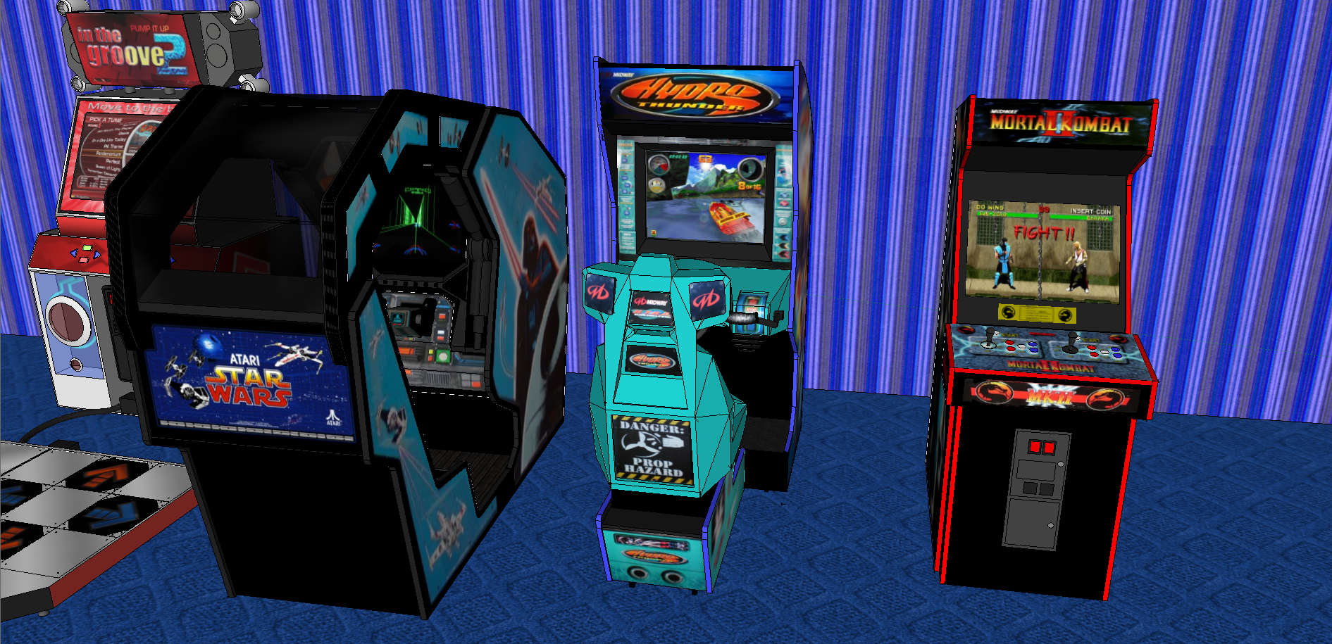 Picture of Arcade Machines