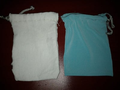 Simple Drawstring Pouch (for Beginners)