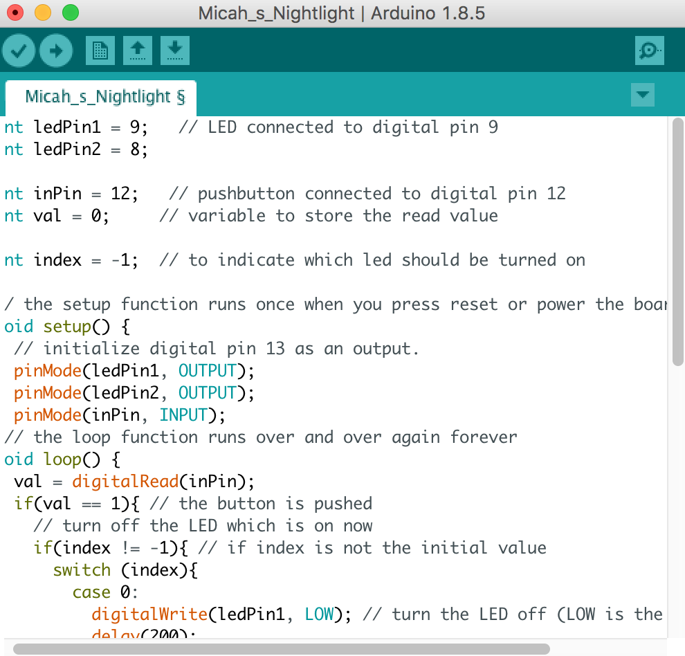 Picture of Step 3: Coding