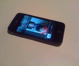 DIY iphone 4 case