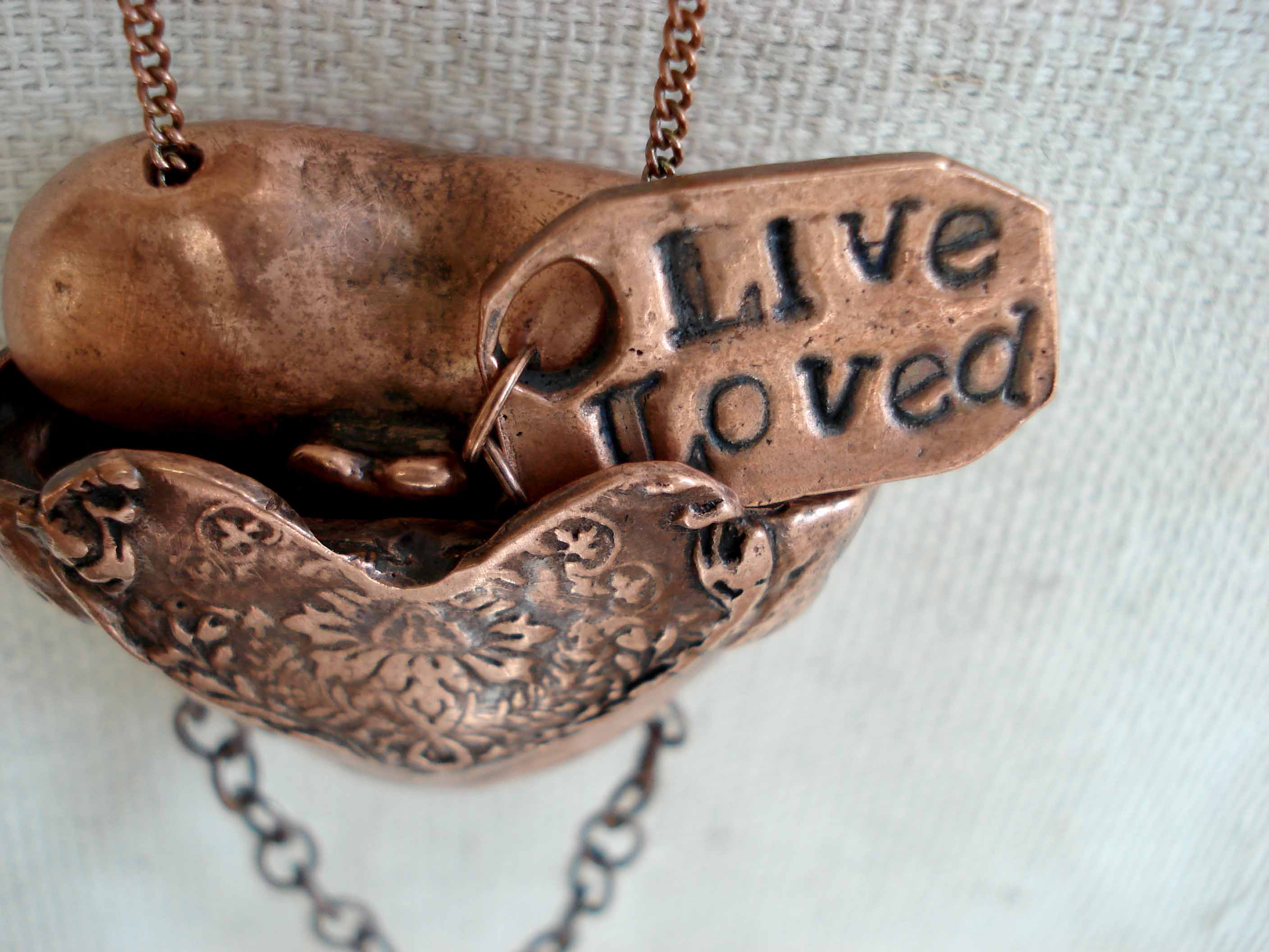 Picture of Live Loved Locket Box
