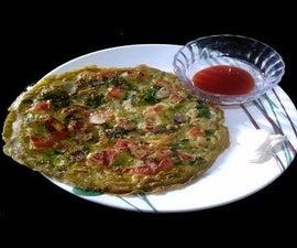 Indian Masala Omelette | Indian Omelette