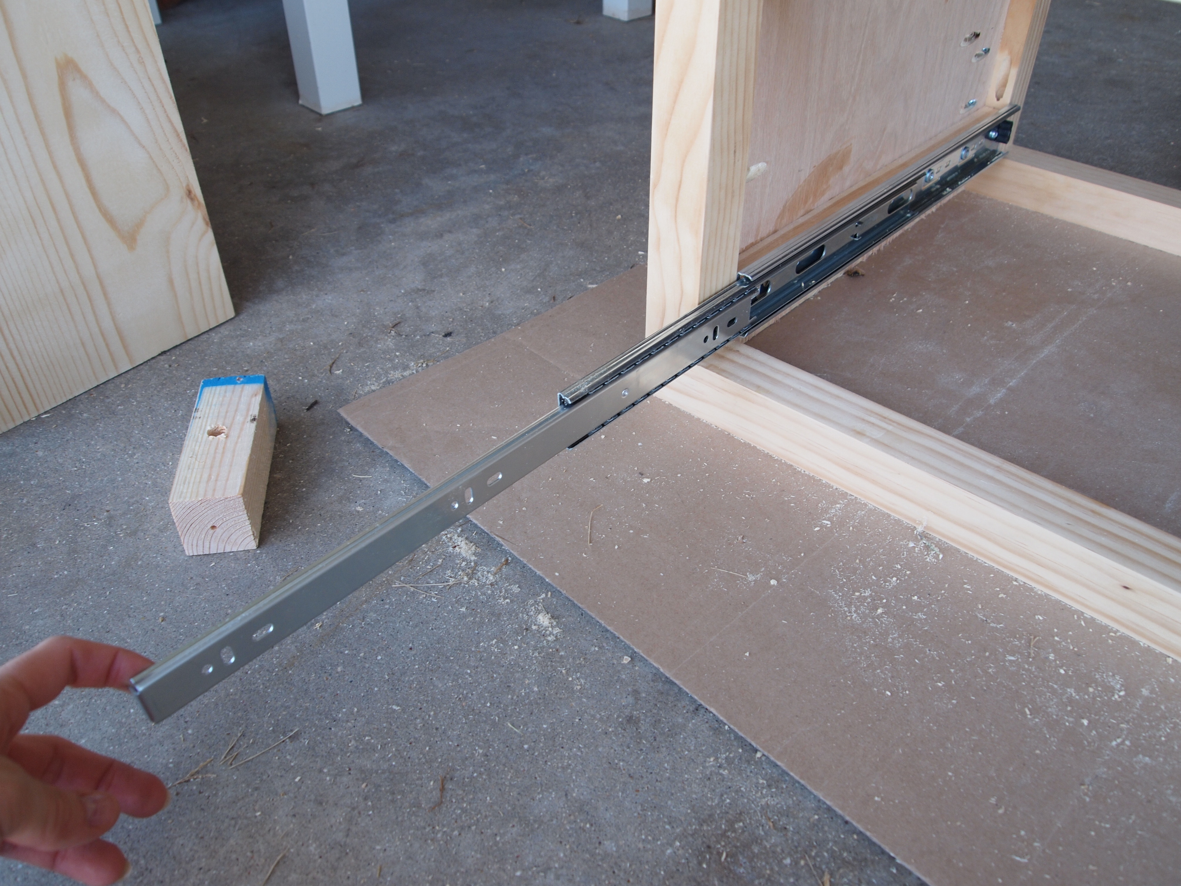 Picture of Drawer Slides