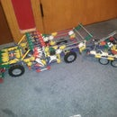 Knex truck and trailer