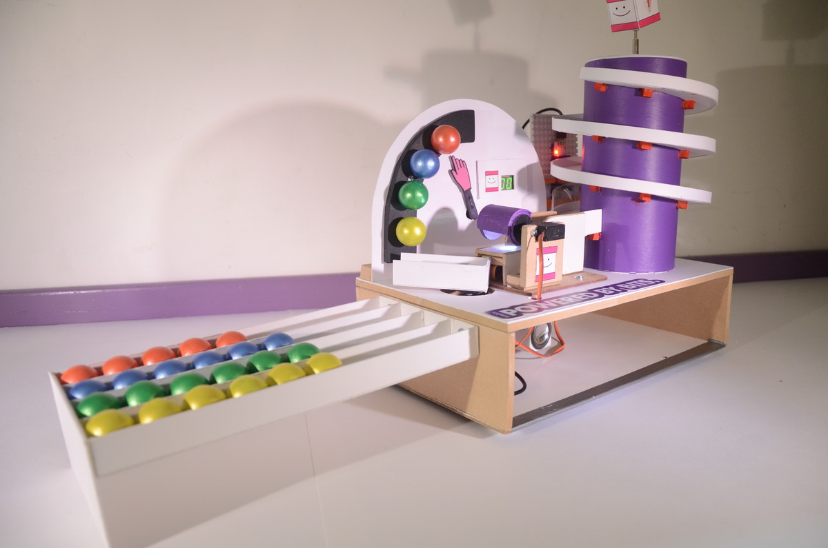 Picture of Magical Marble Sorting Machine