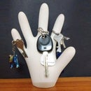 DIY Hand Keyholder!