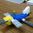 LEGO X-302 Experimental Jet