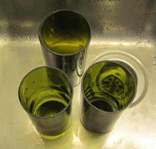 Bottle Glass Cutting and Polishing.