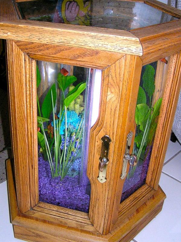 Building an Hexagonal Acrylic Aquarium