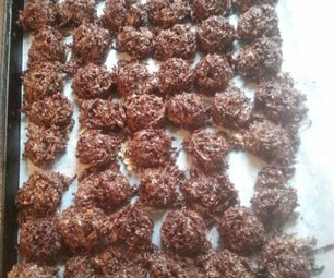 Stovetop Chocolate Fudge Macaroons