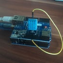 Arduino Ethernet DHT11 Temperature and Humidity Logging, Mobile Stats