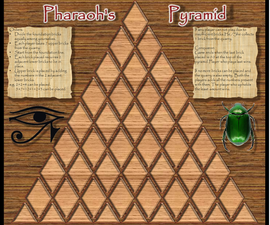 Pharaoh's Pyramid mathematical board game