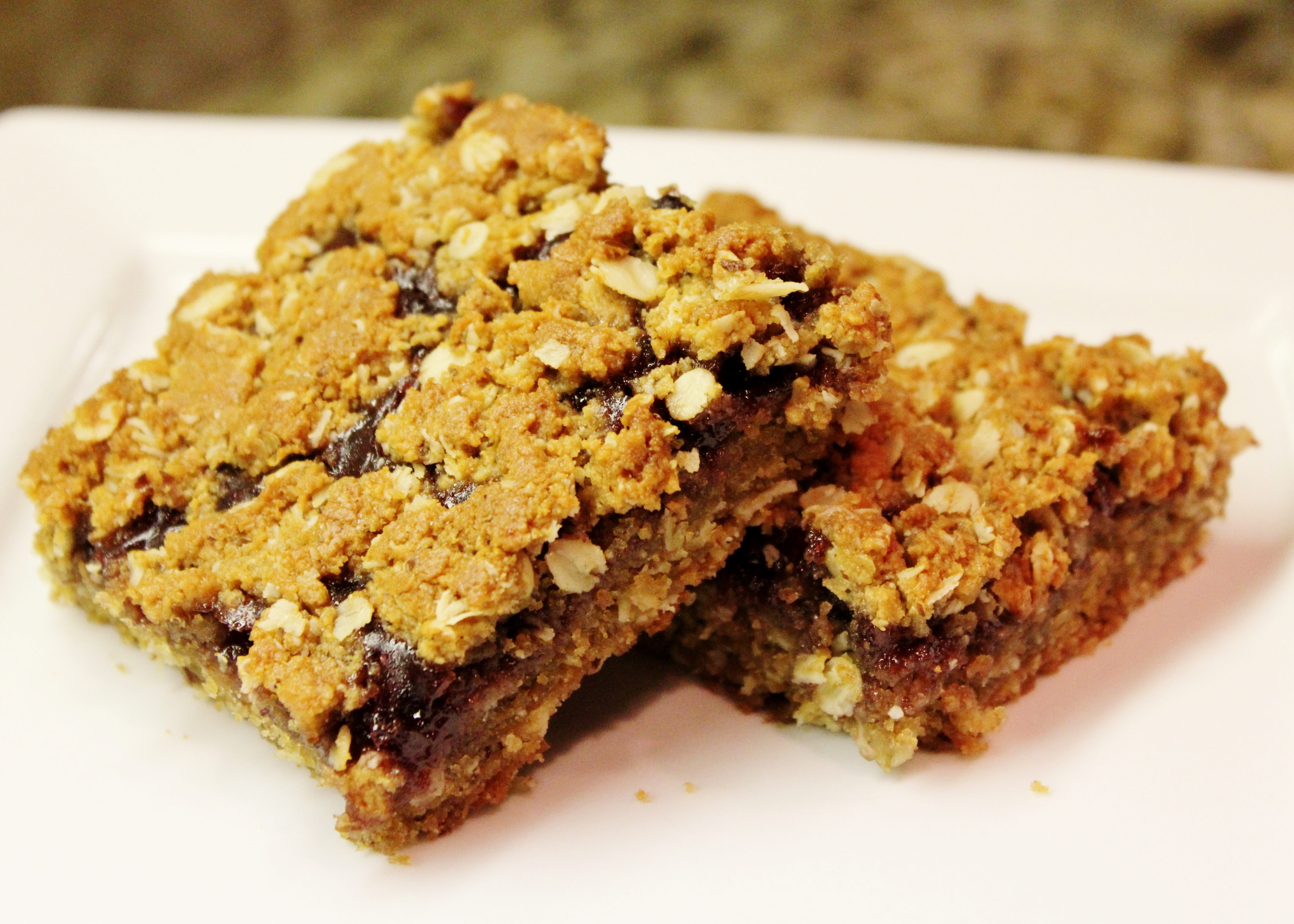 Picture of Gluten Free Peanut Butter and Jelly Bars