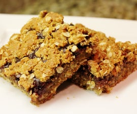 Gluten Free Peanut Butter and Jelly Bars
