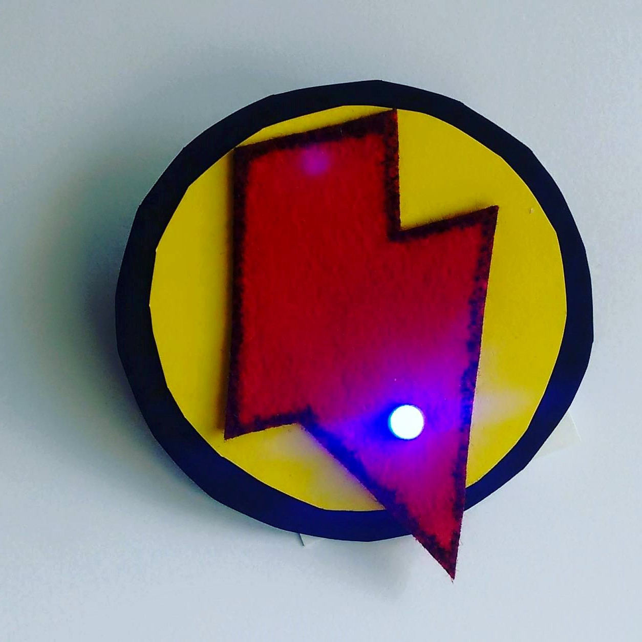 Picture of Customizable Led Badge With Switch