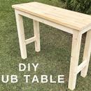 DIY Pub Table