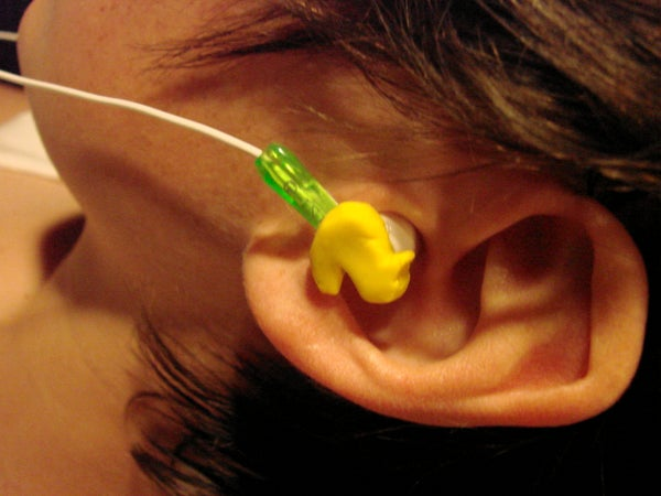 DIY Duck Ear Buds