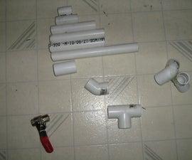 Make a tripod mounted air cannon/turret