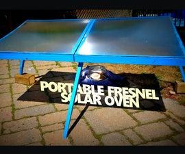 Portable Fresnel Solar Oven