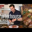 The Ultimate Porterhouse Steak w/ Citrus Herb Butter
