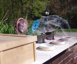 Arduino Powered Three Arm Bubble Machine