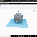 How to 3d Model(and Print) the Moon in Tinkercad.
