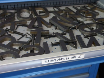 Storing and Using Your Clamps