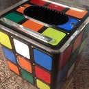 Apple G4 Cube Case Mod Rubik Style Hackintosh