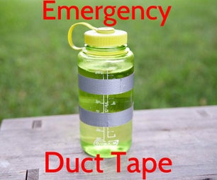 Emergency Duct Tape Stash