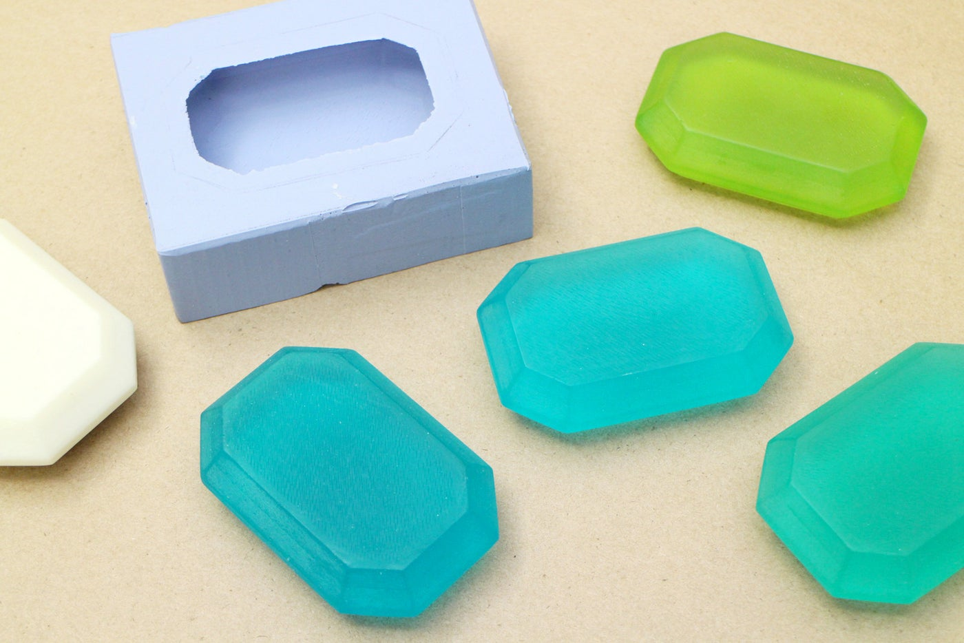 Casting the Molds in Soap