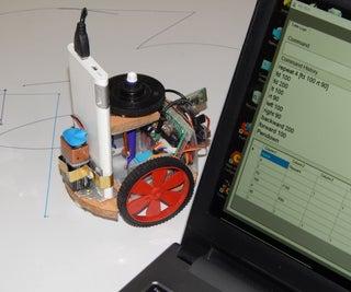 Live Turtle Logo Program Using BT Bot - MyBot
