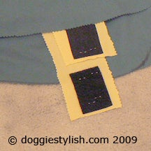 Adding Velcro to the Belly Straps