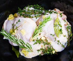 Slow Cooker Chicken Confit