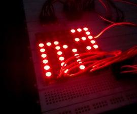 Intel Galileo Interactive LED Matrix