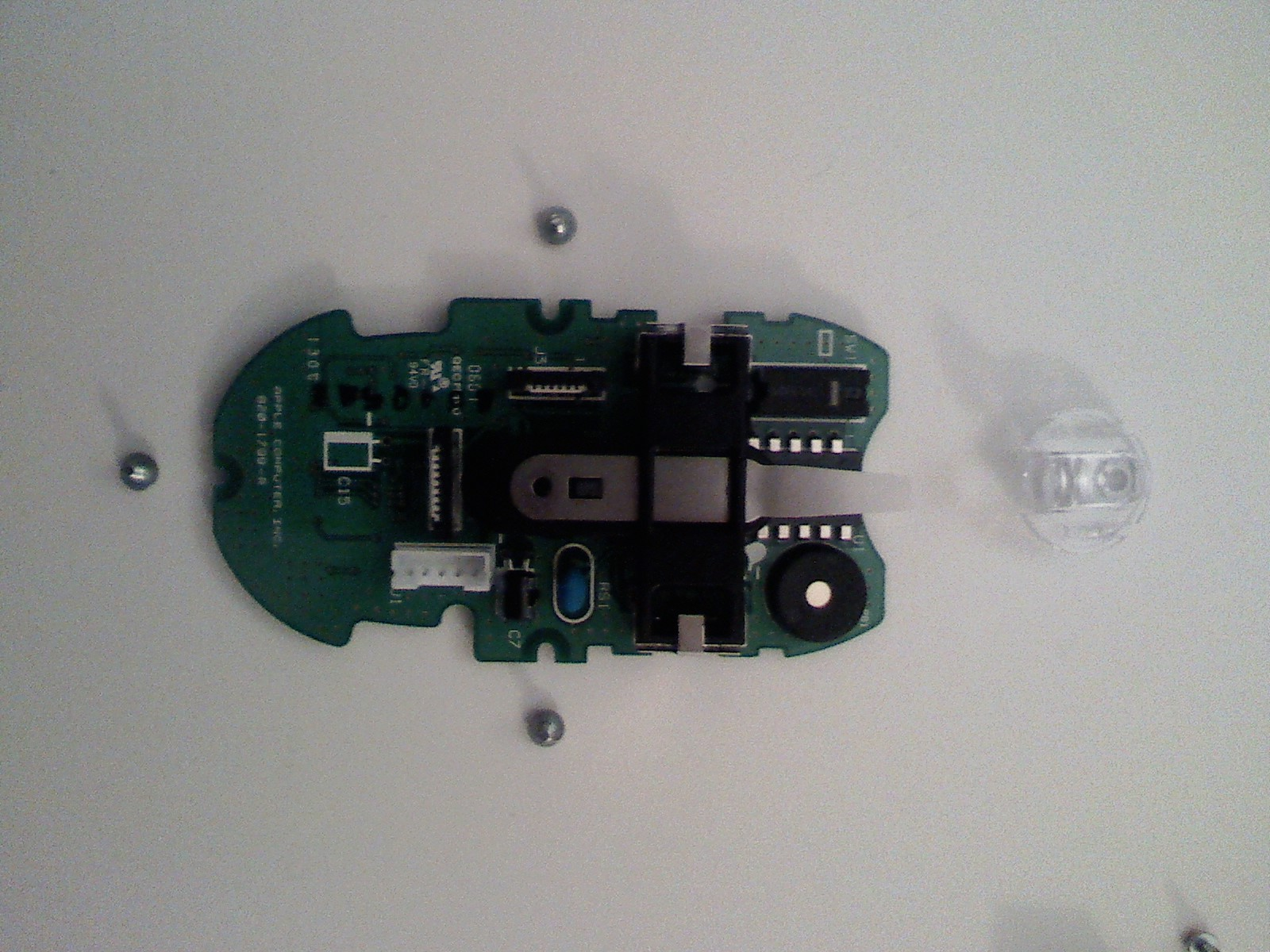 Picture of Disassembly of the PCB