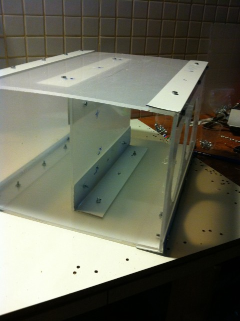 Picture of Strengthen the Boombox by Adding an Additional Middle Rib