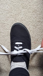 Pull Out on Both Loops to Tighten. You Are Finished! (Continue to the Next Step Only If You Want to Double Knot Your Shoe.)