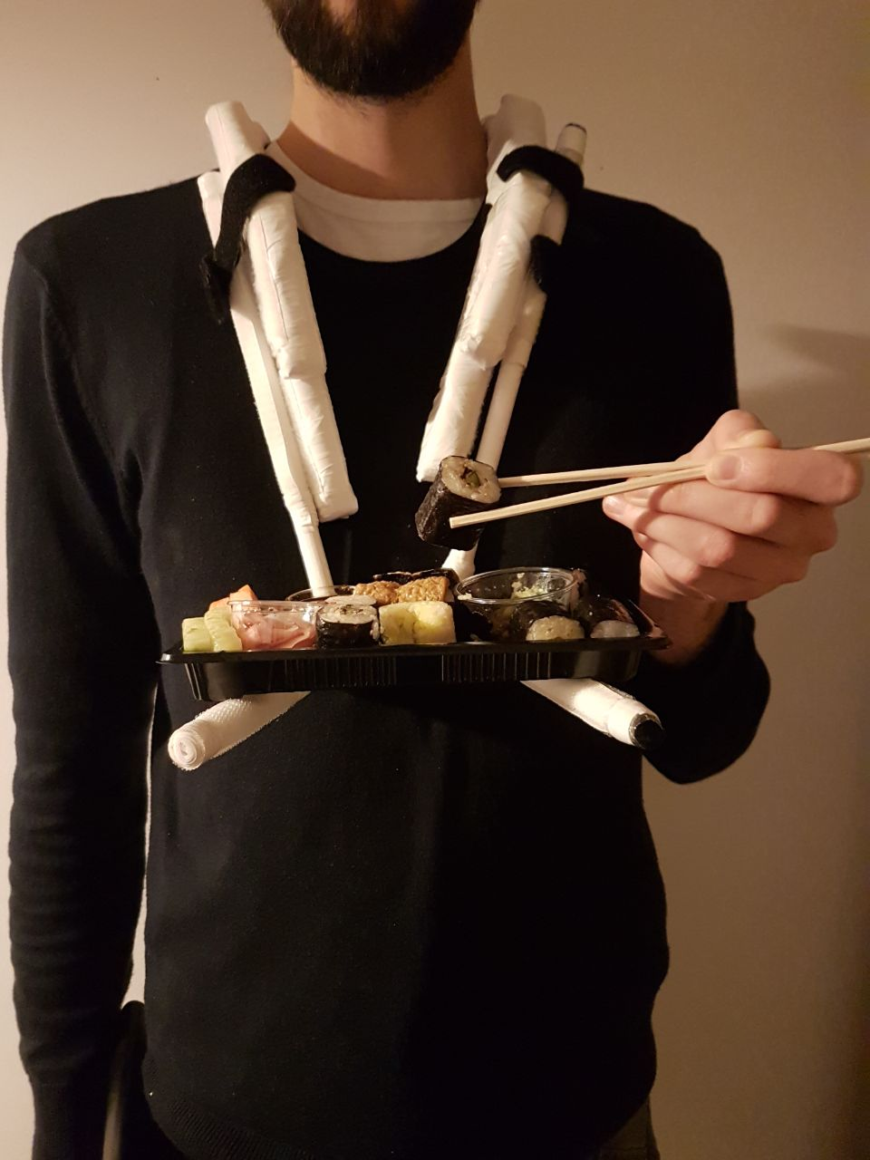 Picture of Modular Handsfree Phone Holder From Paper