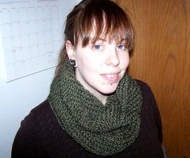 Transverse Cowl Knitting Pattern
