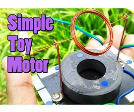 Simple Toy Motor