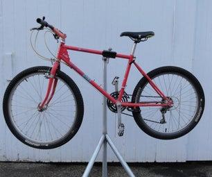 Homemade Bike Repair Stand