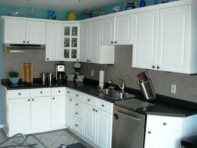 Tile Kitchen Back Splash From