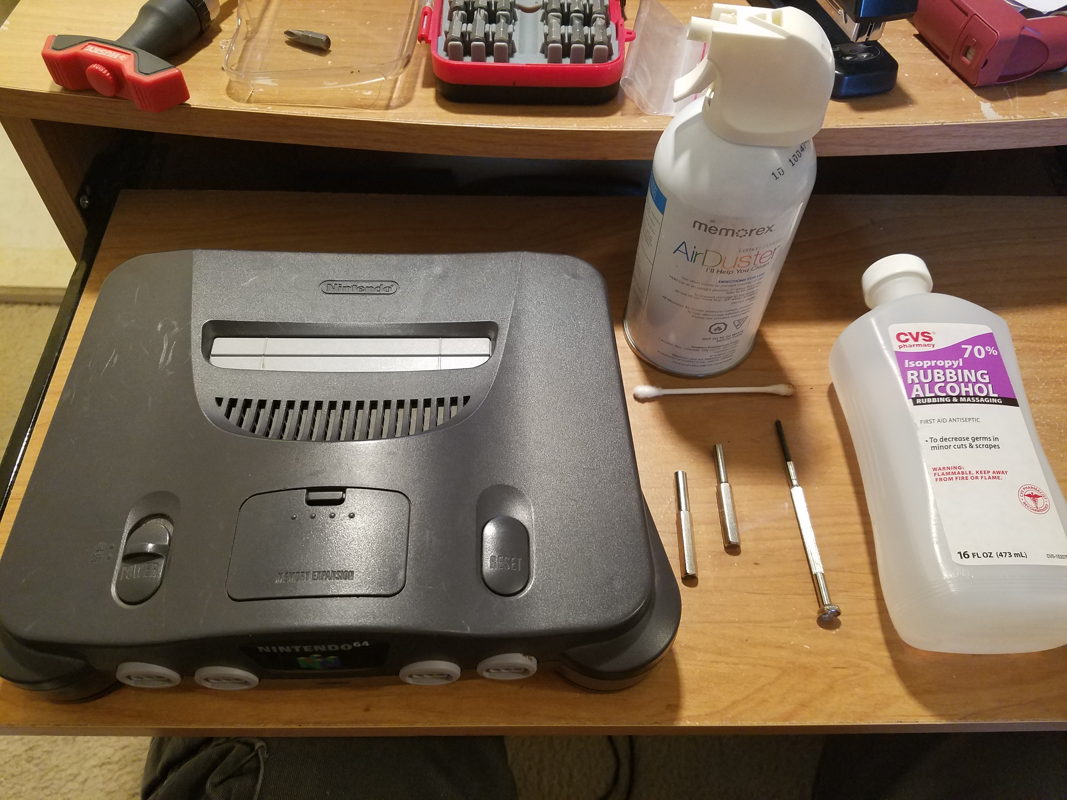 Picture of Restoring a Nintendo 64 N64