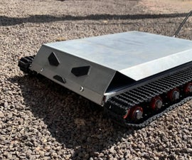 How to Build a Powerful Metal Rc Robot Tank
