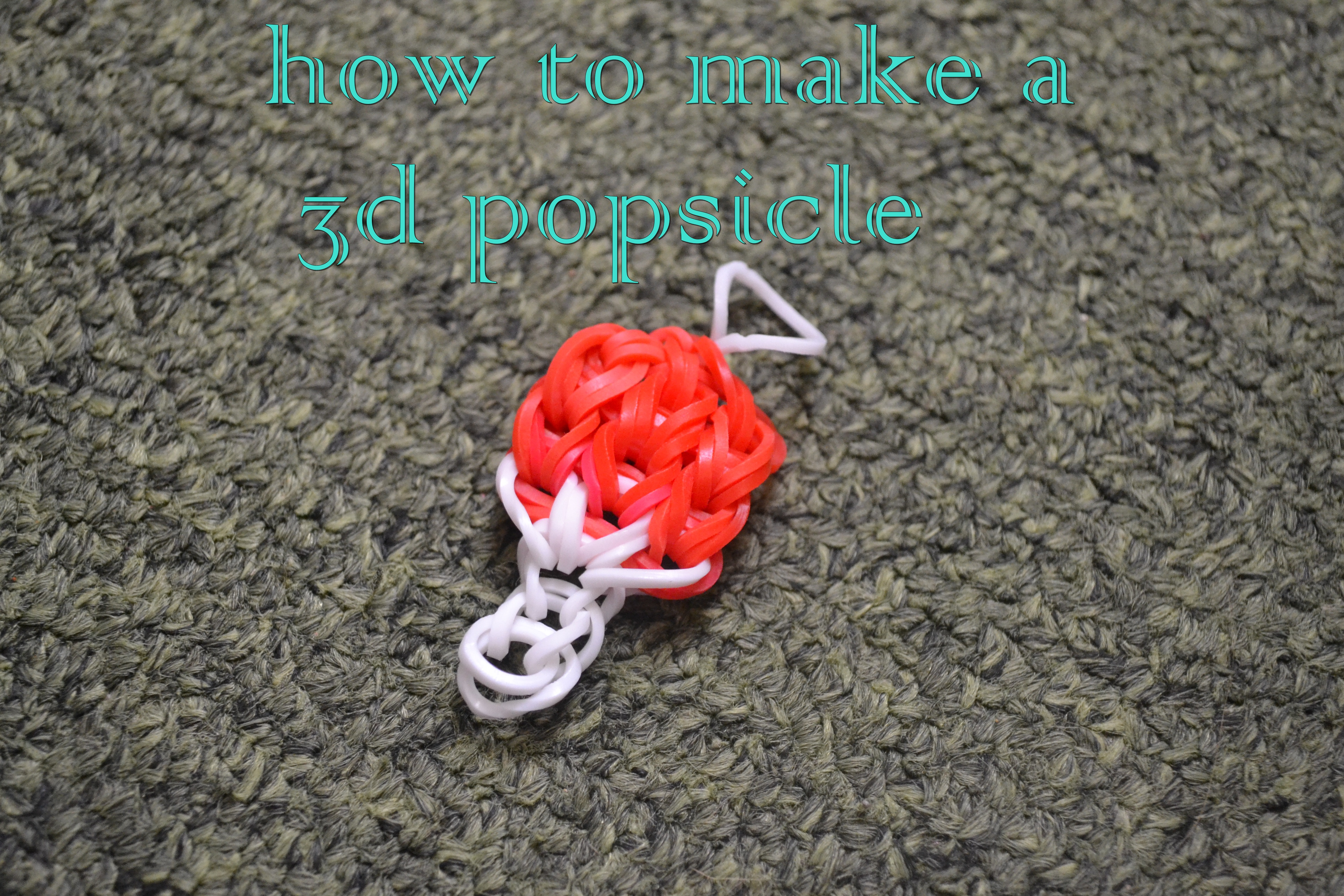 Picture of How to Make a 3D Popsicle Charm