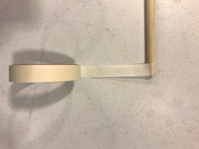 Tape the Dowel Rod