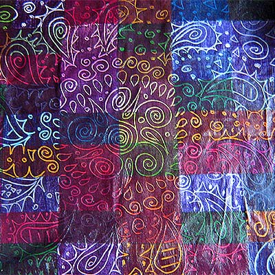 Picture of Fabric Painted Scraps