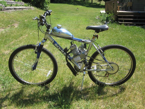 Gas Powered Bycicle